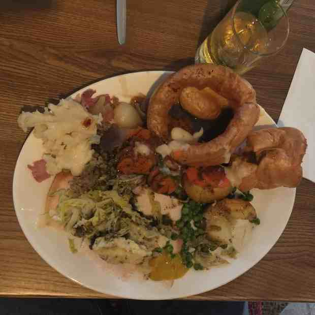 King sized roast at Toby Carvery Northampton