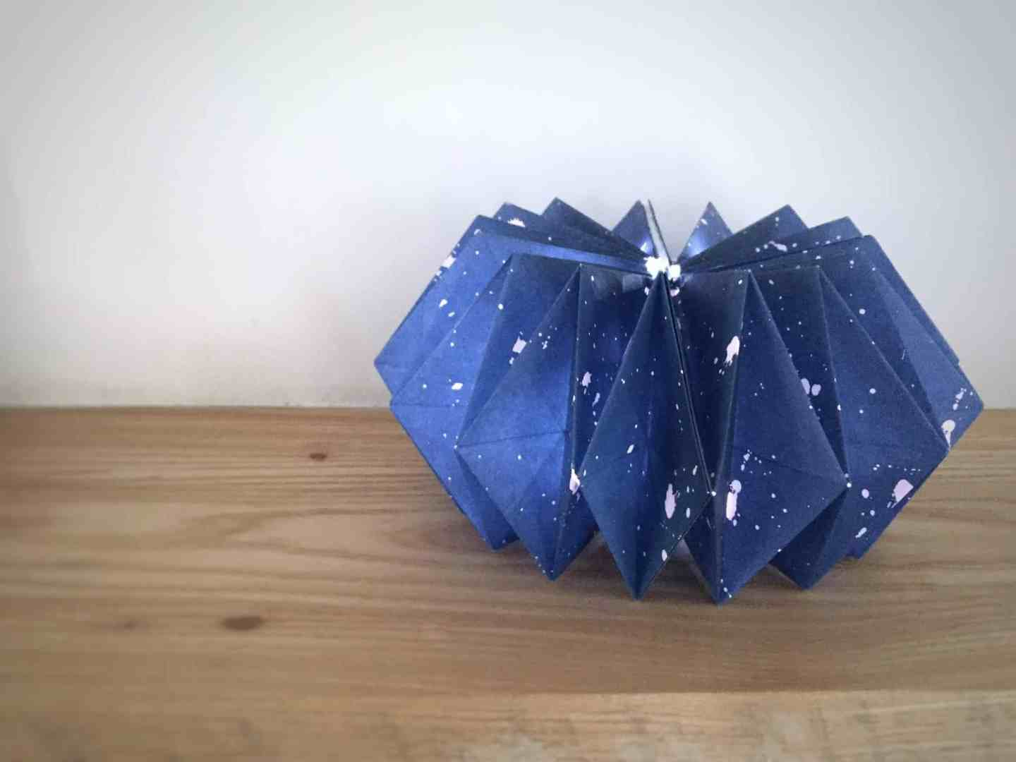 Making An Origami Lampshade With Est
