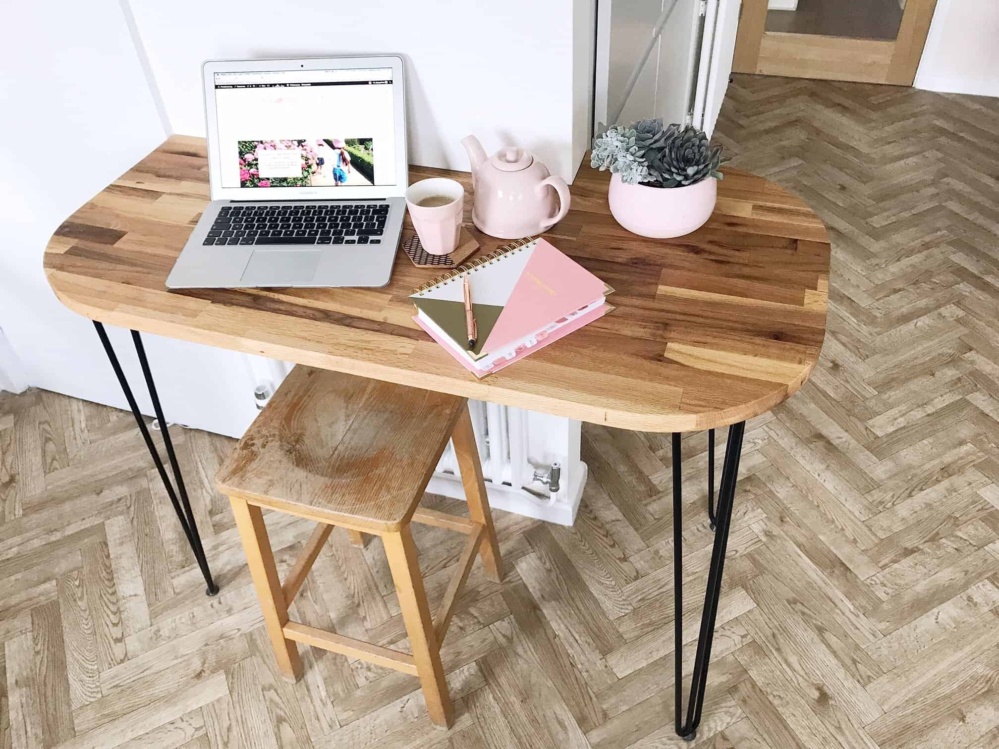 diy chair steel end dining of desk full size legs coffee furniture table hairpin leg metal side iron