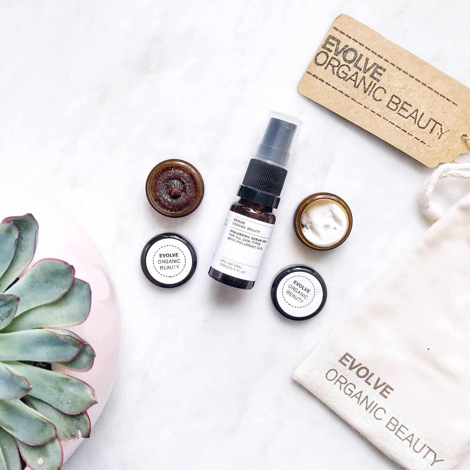 Evolve Organic Beauty Skincare Trial Set Review
