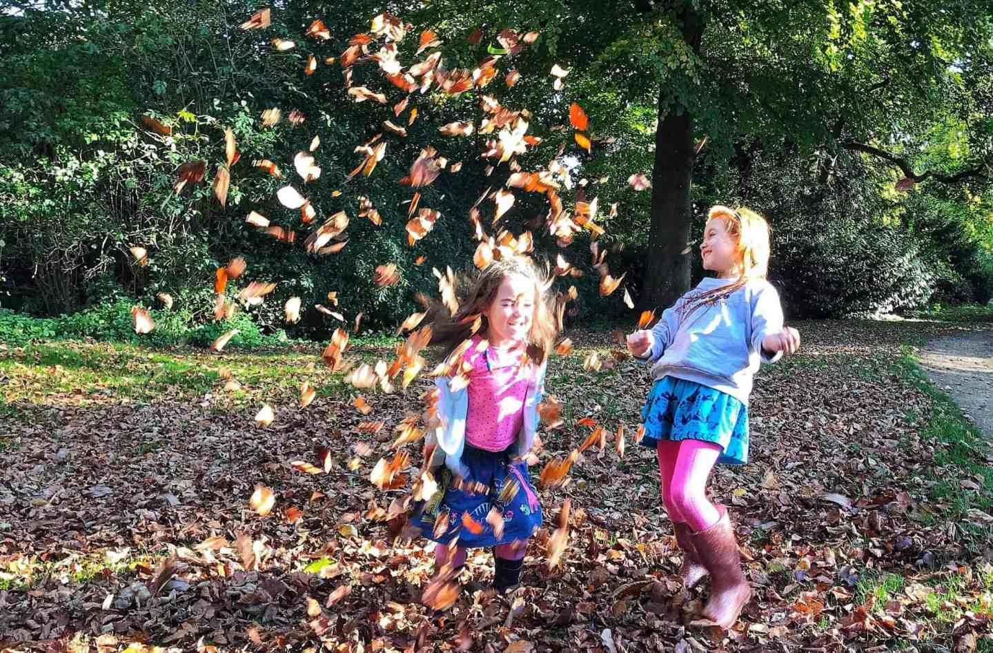 Ava and Thea's October: Half Term Fun and Baking