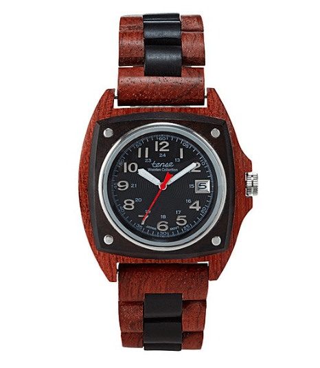 Ethical gifts for him - the Trail Wood Watch