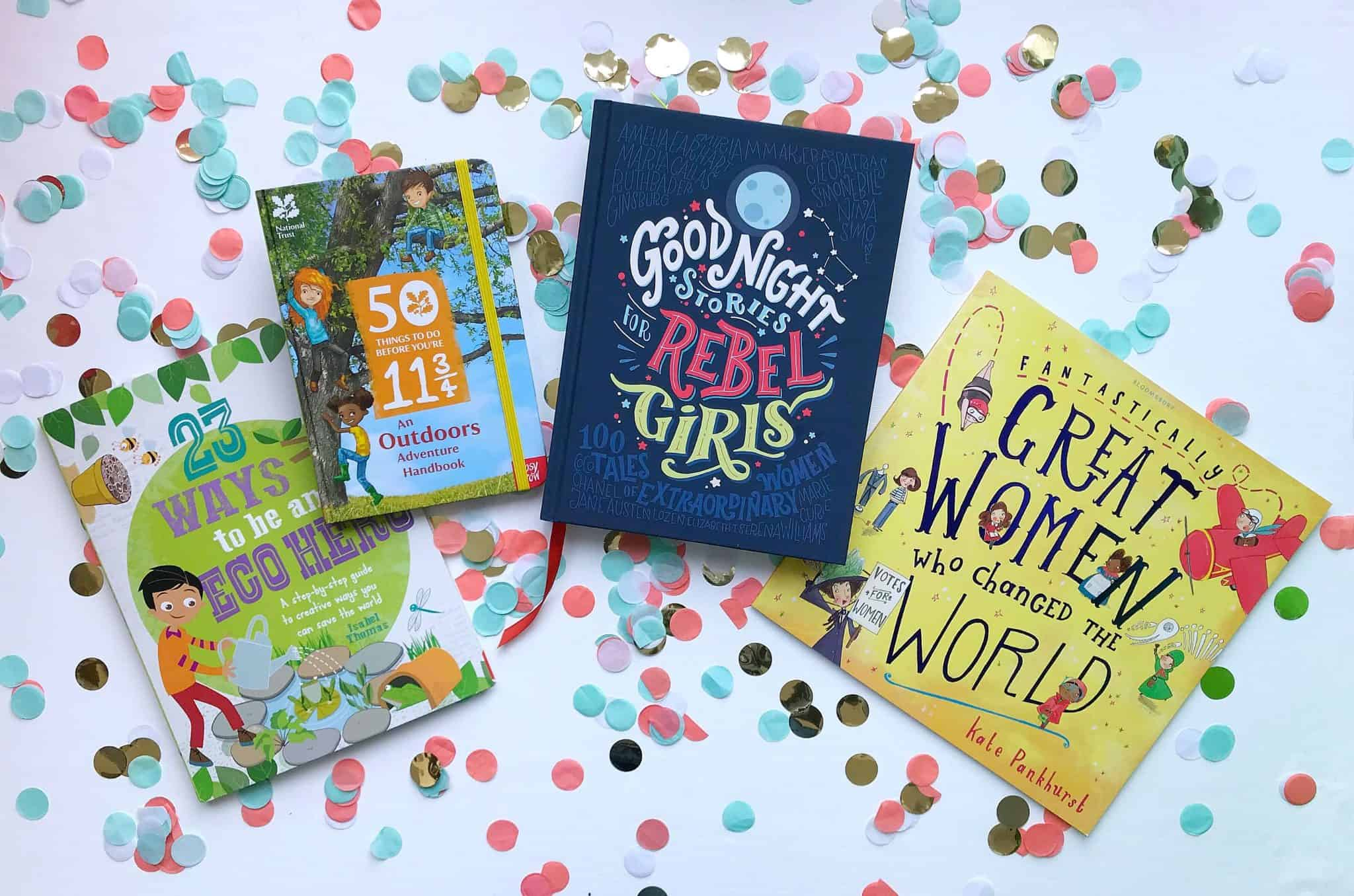 Educational, Inspirational and Environmental books make great Ethical Gifts for Kids