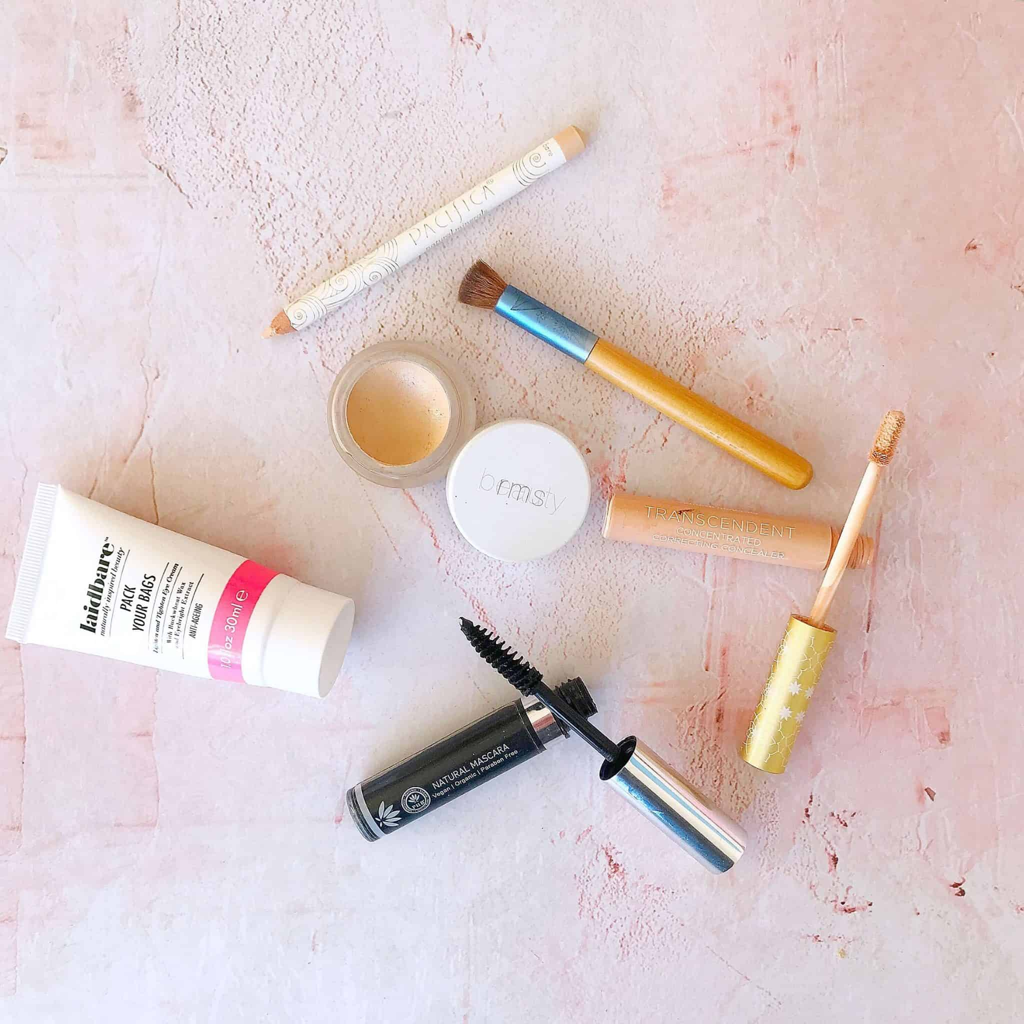 How to Disguise Dark Undereye Circles with Natural Make-up from RMS Beauty, Pacifica, Laidbare and PHB Ethical Beauty
