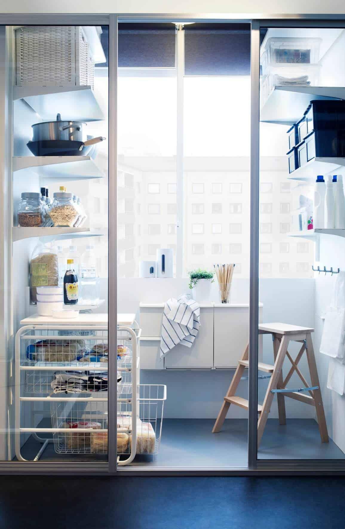 Ikea Algot open storage