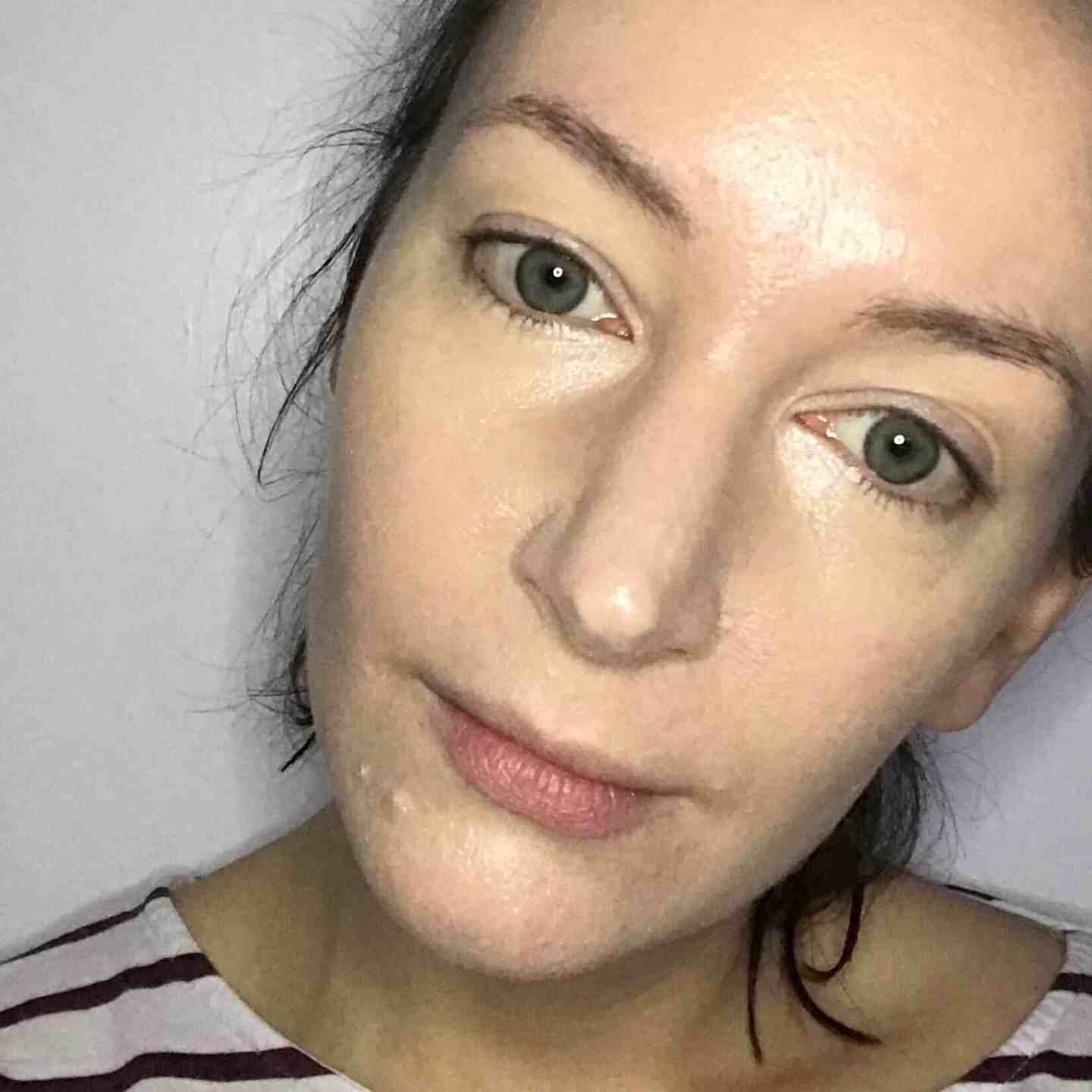 Wearing RMS Beauty 'Un' Cover-up Concealer alone