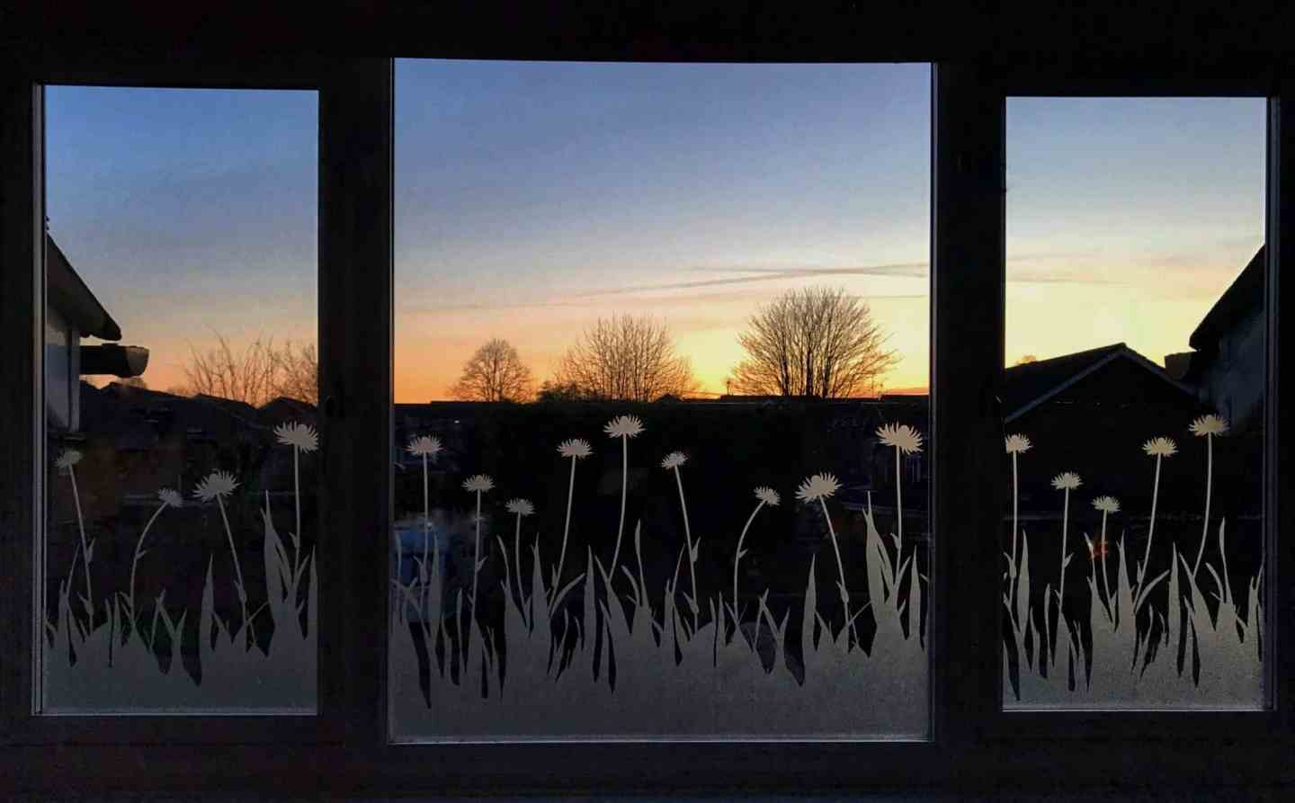 How To Make Over A Window with Window Film - sunsetHow To Make Over A Window with Window Film - sunset