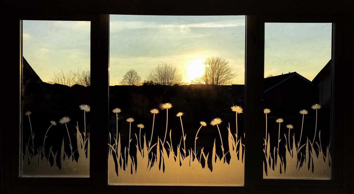 How To Make Over A Window with Frosted Window Film