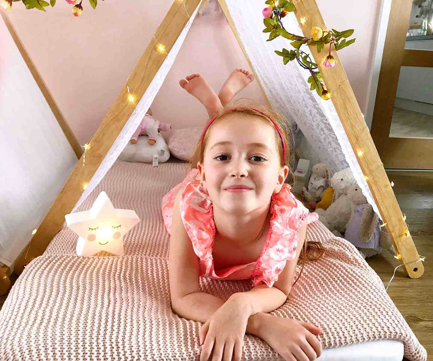 Ava loved her magical sleepover with Teepee Parties