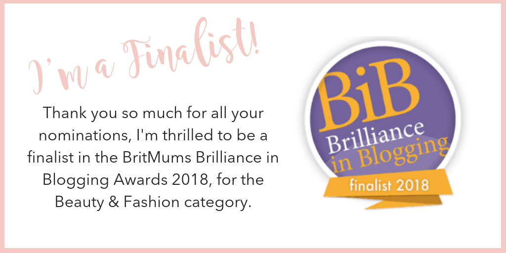 I'm a Finalist in the BritMums Brilliance in Blogging Awards!