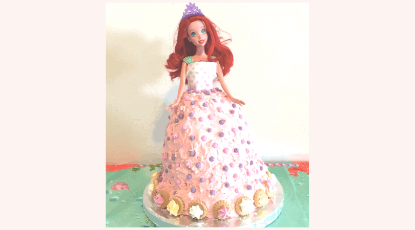 Superb How To Make A Little Mermaid Doll Ariel Birthday Cake Pinkscharming Funny Birthday Cards Online Alyptdamsfinfo