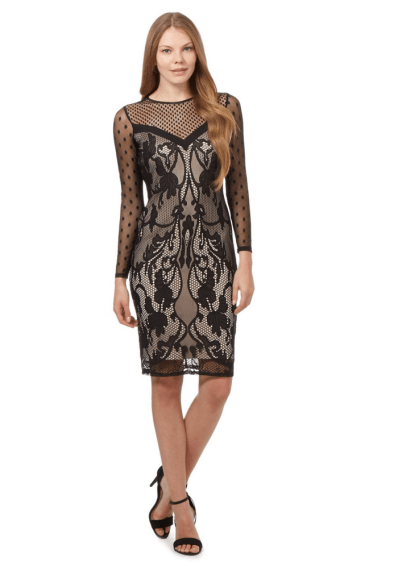 Star by Julien Macdonald Black lace dress