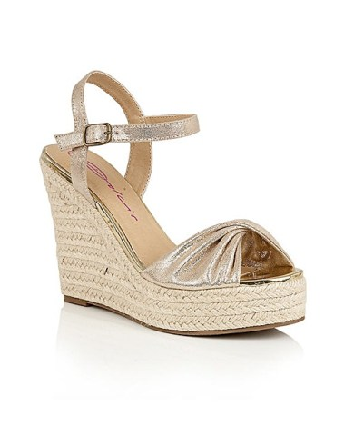 DOLCIS HOLLY ESPADRILLE WEDGE SANDALS
