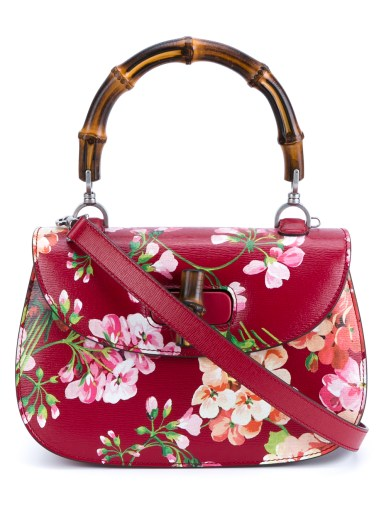 GUCCI Bamboo Classic Printed Shoulder Bag