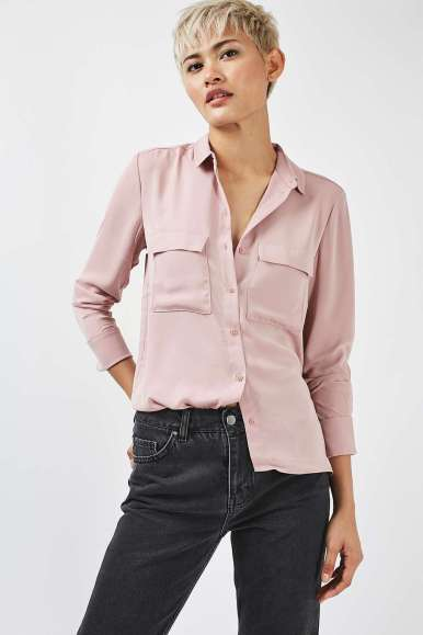 Topshop Classic Pocket Shirt