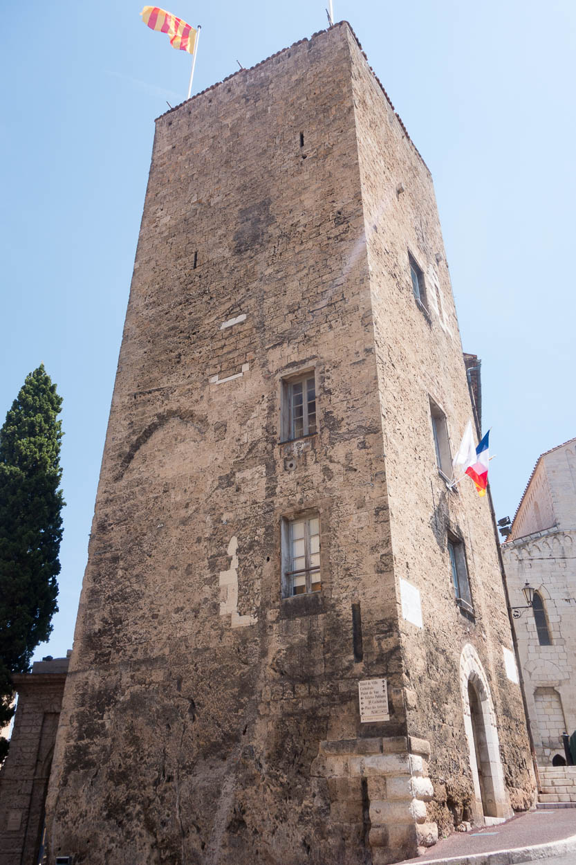 Tower at the town hall, Grasse