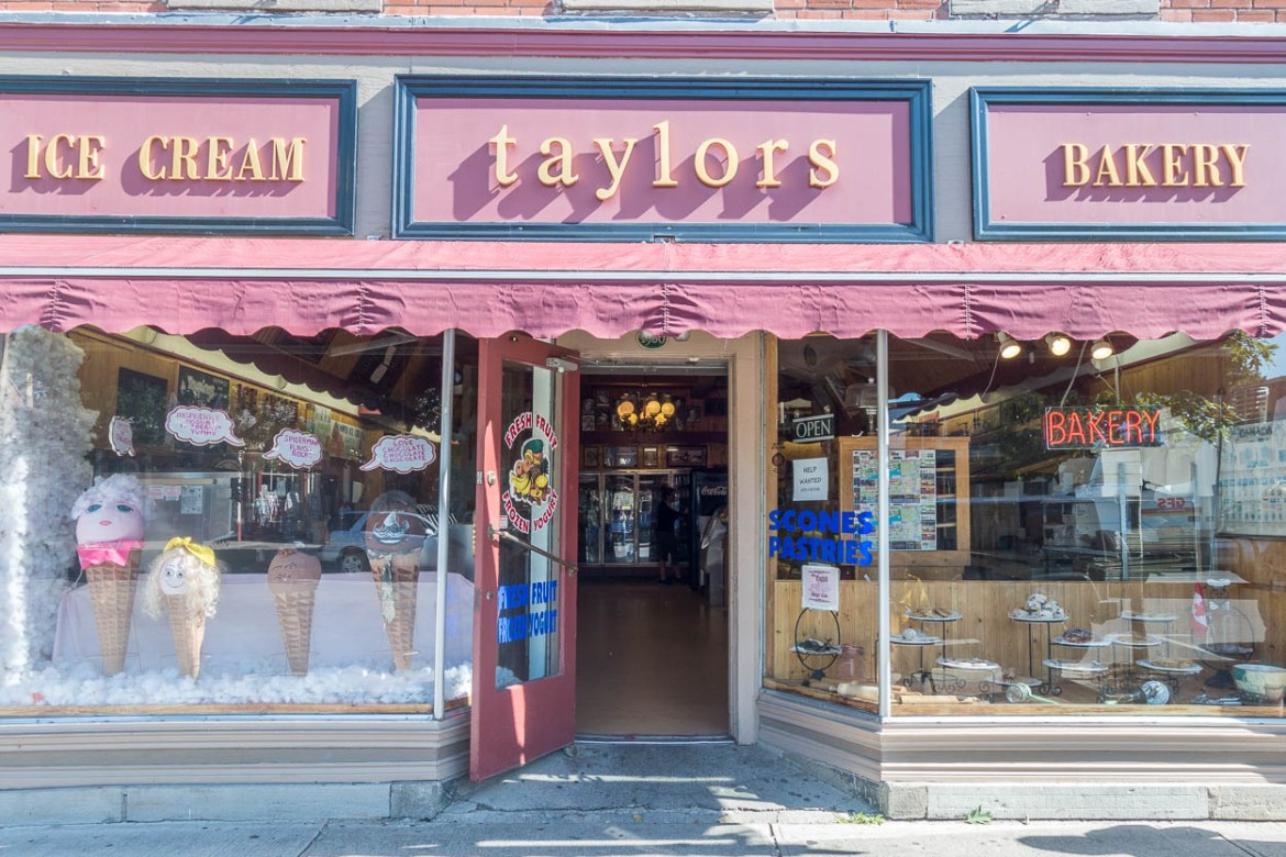 Taylors Ice Cream Bakery, Niagara-on-the-Lake