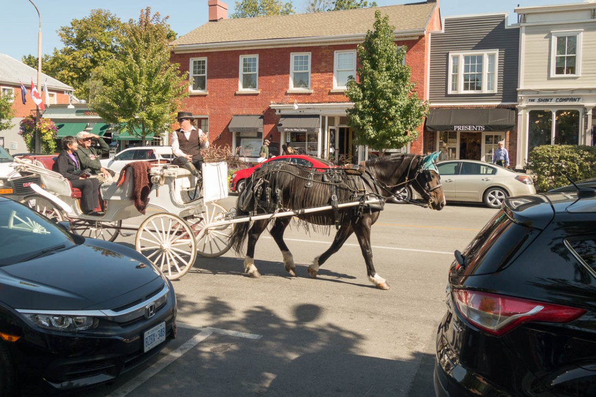 Horse-drawn carriage, Niagara-on-the-Lake