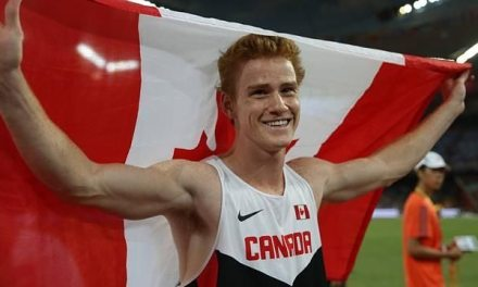 Shawn Barber reaches world pole vault final four months after coming out as gay