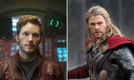 "Chris Hemsworth left ""weirdly shaken"" meeting Chris Pratt"