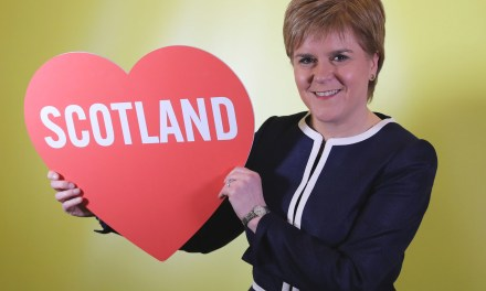 SCOTLAND'S FIRST-MINISTER TO MAKE UK PRIDE HISTORY