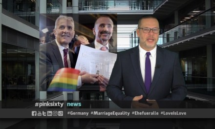 GERMANY'S FIRST GAY MARRIAGES TAKE PLACE