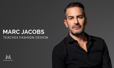 Marc Jacobs Teaches MasterClass Fashion Design