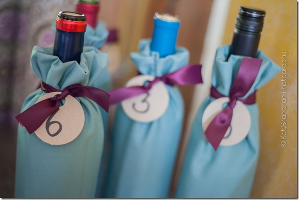 Wine Tasting Game for Little Black Dress Bridal Shower Theme    Photos by Kat Shanahan Photography