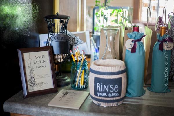 Little Black Dress Bridal Shower Theme Wine Tasting Game