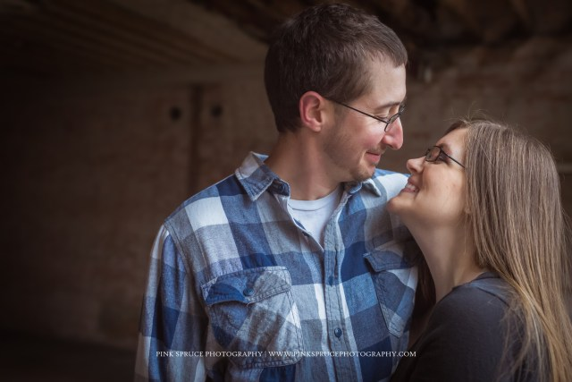 Nicole + Kyle | Historic Pearl Street Engagement Session | Downtown La Crosse
