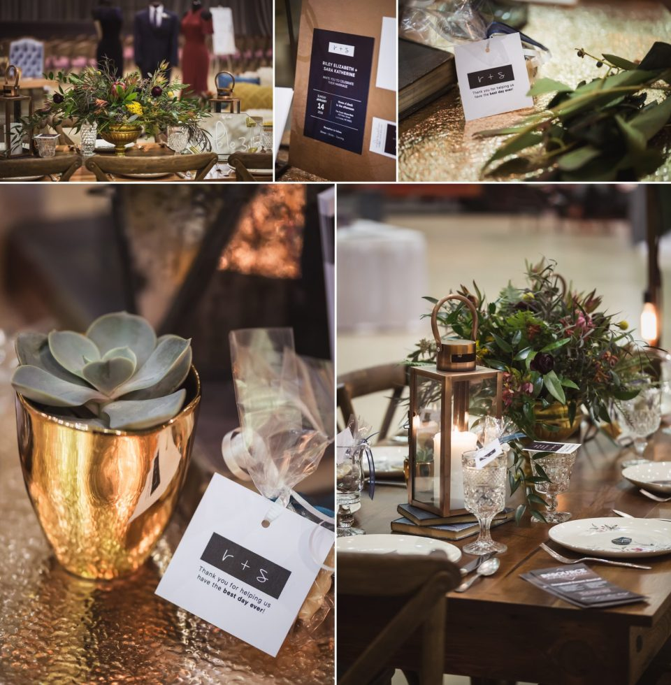 Modern Copper Boho Chic Wedding Theme | La Crosse Bridal Expo 2018 | Photography by Pink Spruce Photography, Wedding Photographer La Crosse WI