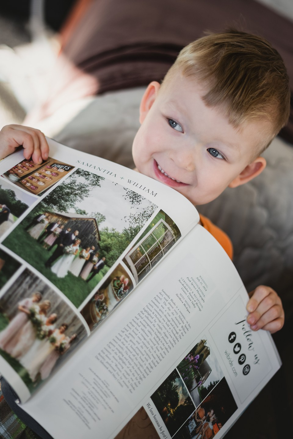 Pink Spruce Photography Wisconsin Bride Magazine Feature | Spring\Summer 2019 Issue