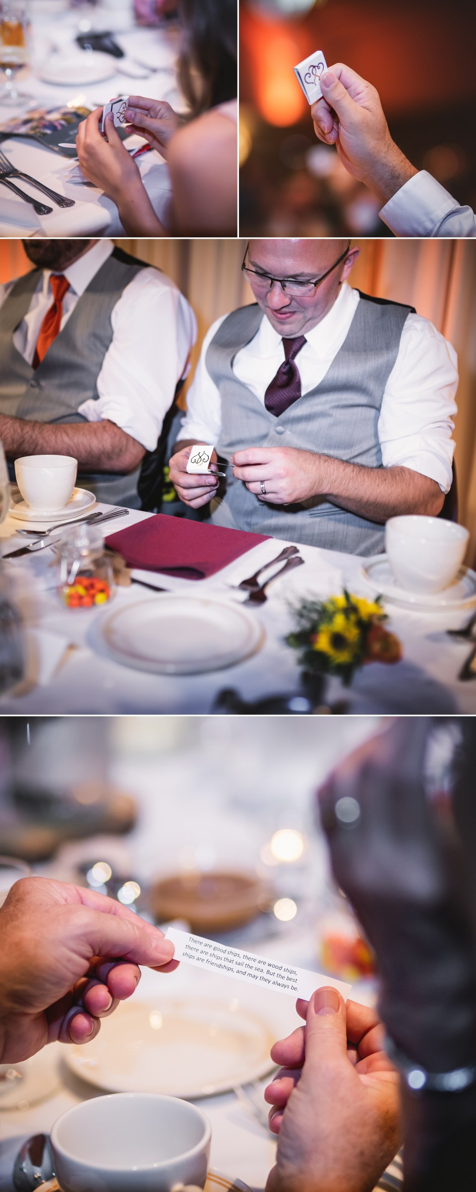 Wedding Reception at The Monona Terrace in Madison, WI | Pink Spruce Photography | www.pinksprucephotography.com