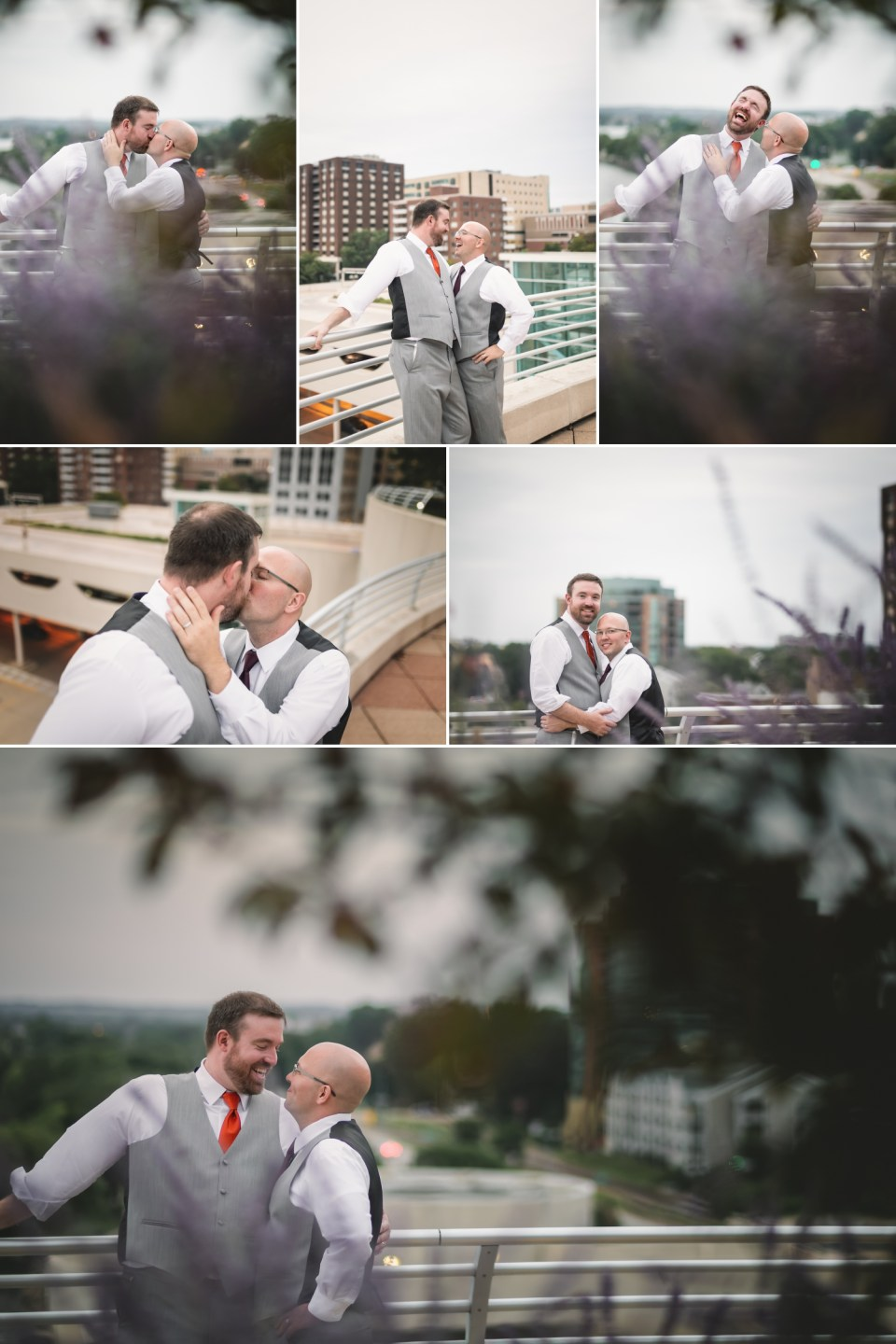 Sunset LGBTQ Wedding Photos | Pink Spruce Photography | www.pinksprucephotography.com