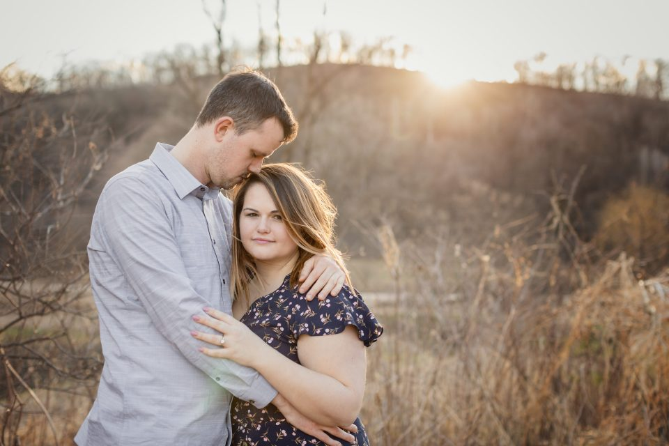 Rustic Engagement Session at Cassell Hollow Farm · Angie + Ryan