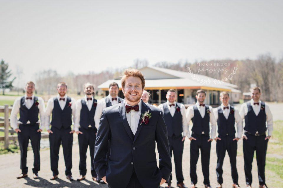 Rustic Outdoor Wedding at Dixon's Apple Orchard · Cadott, Wisconsin   Danielle + Tyler