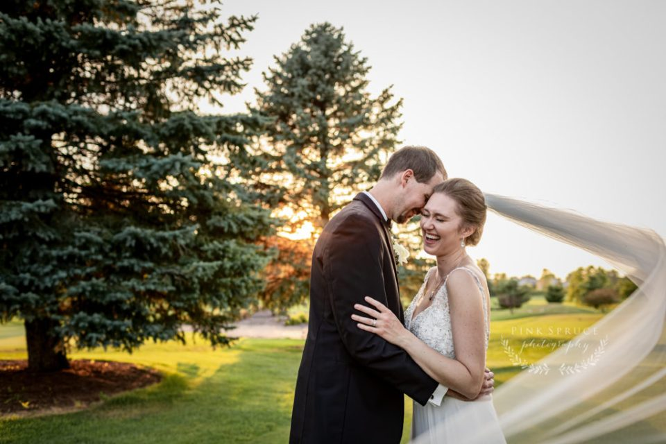 Wedding at Cedar Creek Country Club | Kara + David | Onalaska Wisconsin Wedding Photographer