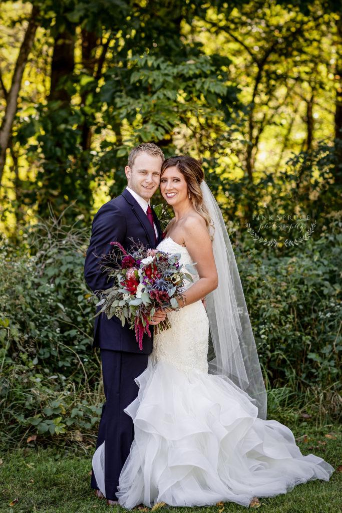 Winnebago Springs Wedding Couple · McKennah + Jacob   Minnesota Wedding Photographer