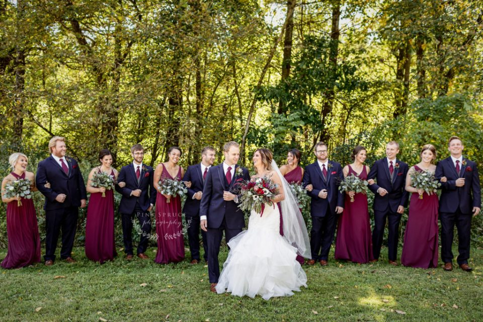 Winnebago Springs Wedding Party · McKennah + Jacob | Minnesota Wedding Photographer