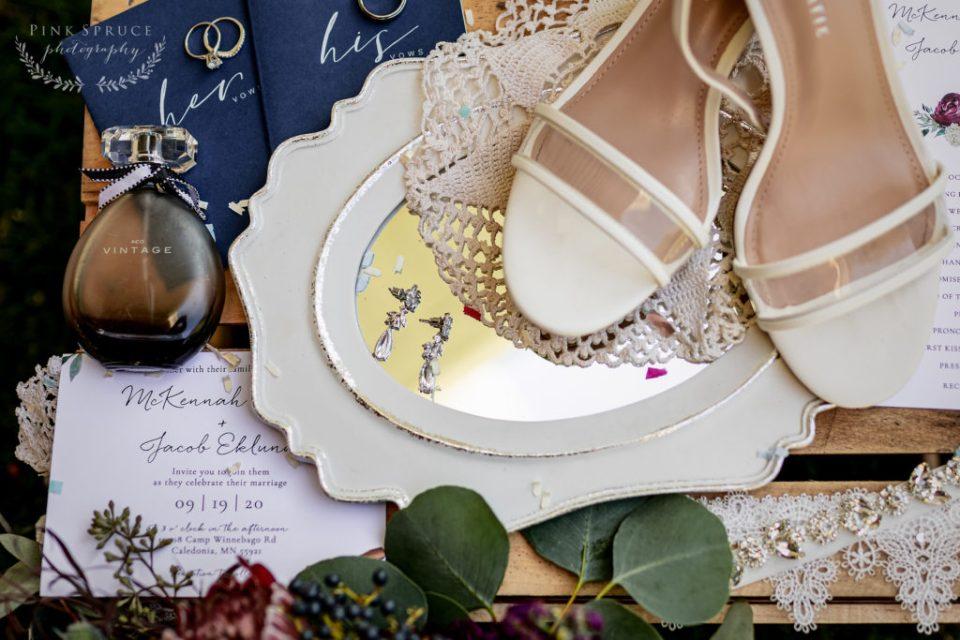 Winnebago Springs Wedding Details · McKennah + Jacob   Minnesota Wedding Photographer