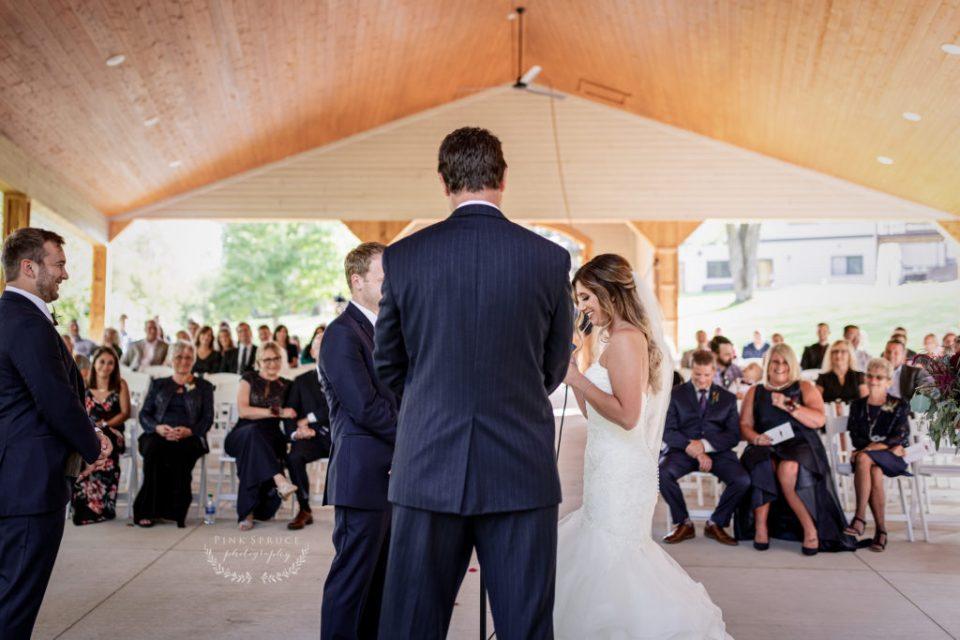Winnebago Springs Wedding Ceremony · McKennah + Jacob   Minnesota Wedding Photographer