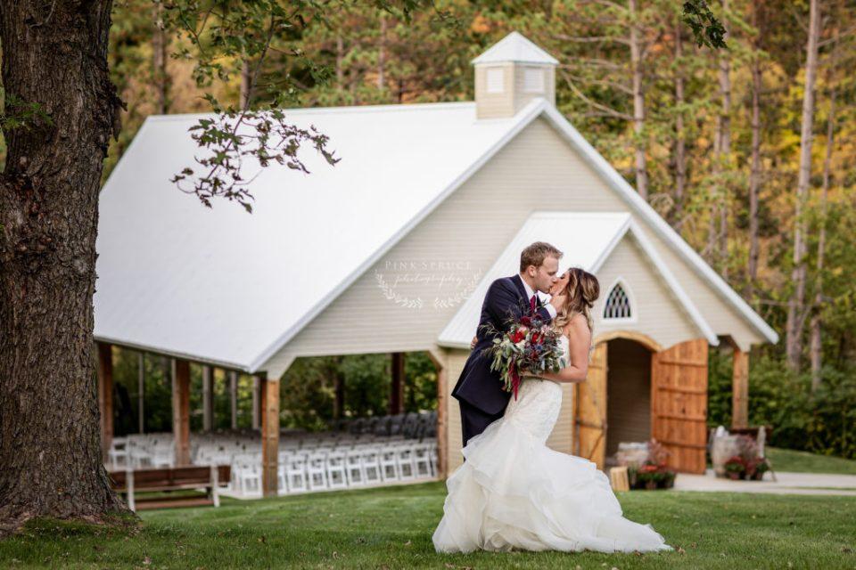 Wedding Couple at Winnebago Springs · McKennah + Jacob   Caledonia MN Wedding Photographer