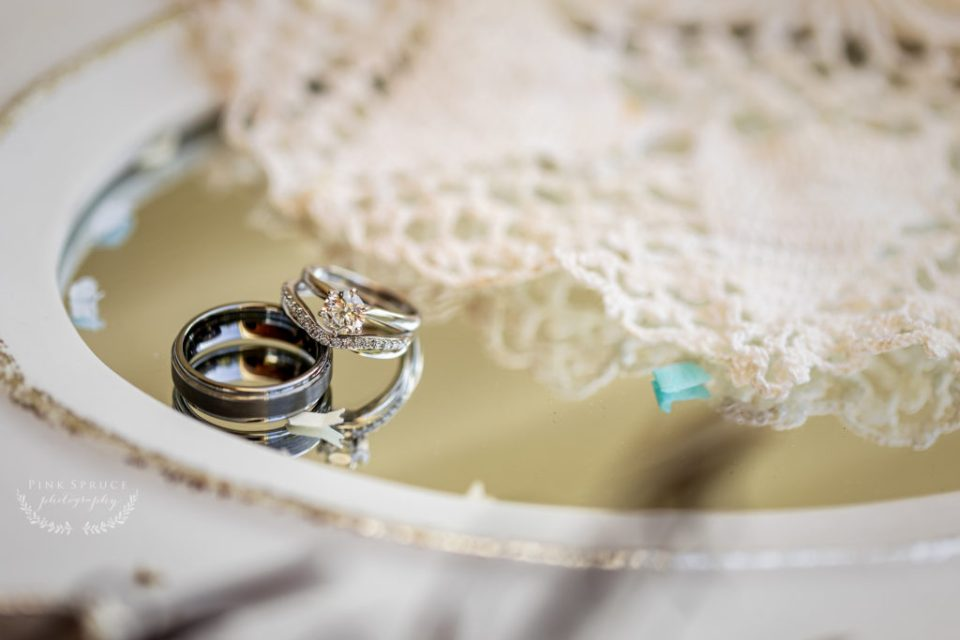Winnebago Springs Wedding Rings · McKennah + Jacob | Minnesota Wedding Photographer