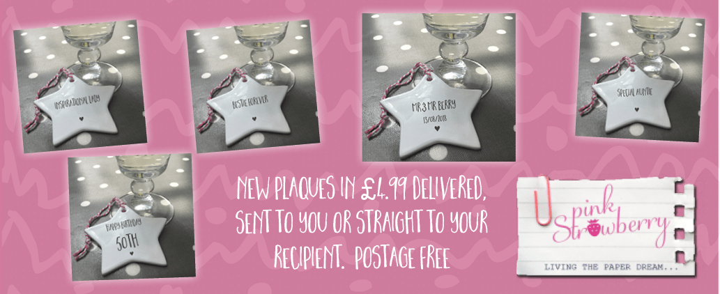 New Plaques in stock now