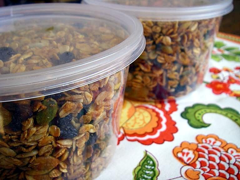 cherry-almond-granola