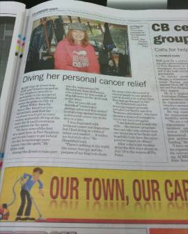 30 July 2015 Examiner Newspaper, Port Stephens, NSW (Feature Article)