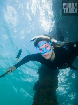logo-freediver-sam-descending-facing-camera