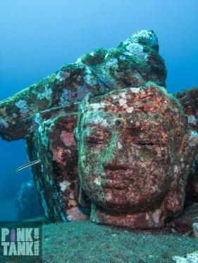 LOGO Bali Lady Statue Head