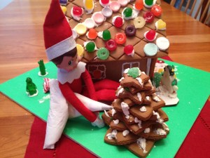 Holiday Stress: Cookie Making A Gingerbread House