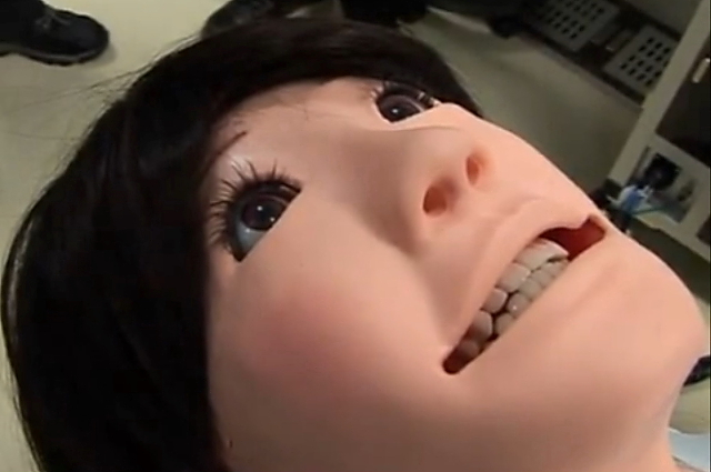 Hanako Showa dental patient robot --